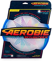 """Aerobie Skylighter Lighted Disc 12"""" Diameter, Easy to Throw and Lights Up"""