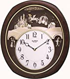 "Rhythm Clocks ""Princess Fantasy"" Musical Motion Clock For Sale"