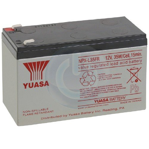 UPSBatteryCenter Battery Replacement for Best Power Patriot Blackout Buster 12V 7.2Ah F2