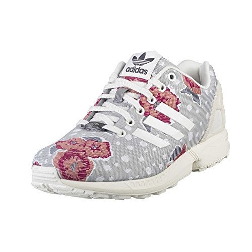 Adidas - ZX Flux W - S76601 - Farbe: Grau-Rosa-Violett - Größe: 36.0
