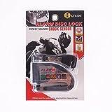Iztoss Motorcycle security Disc Lock Anti Thief throttle ...