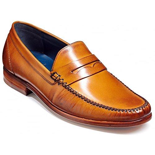 Herren William Mokassin Schuh, Braun - Cedar Calf - Größe: 47