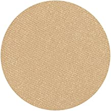 Sugared Shortbread Pearlized Tan Eyeshadow Single Eye Shadow Makeup Magnetic Refill Pan 26mm, Paraben Free, Gluten Free, Made in the USA
