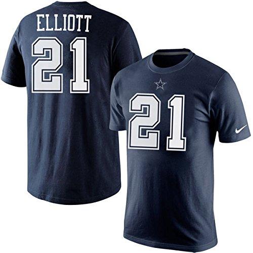 Dallas Cowboys Ezekiel Elliott Name and Number Tshirt XL