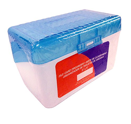 Plastic Box Holds - Plastic Index Card Case for 3