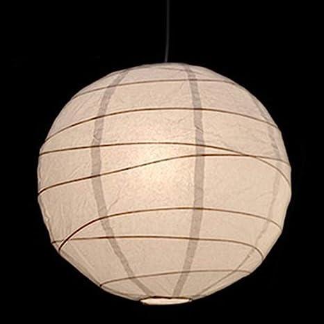 30cm White Paper Lampshade Ceiling Light Pendant Lamp Shade Ball Lantern Decor
