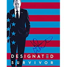 KIEFER SUTHERLAND signed autographed DESIGNATED SURVIVOR TOM KIRKMAN photo
