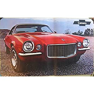 1971 Chevrolet Camaro & RS/SS Z28 Sales Poster