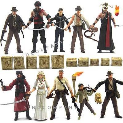 [Lot 10 Indiana Jones figure &Box WILLIE SCOTT TEMPLE GUARD OF DOOM XMAS GIFTAK88] (German Officer Hat Costume)