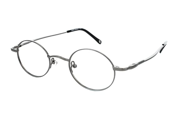john lennon jl214 mens eyeglass frames antique pewter