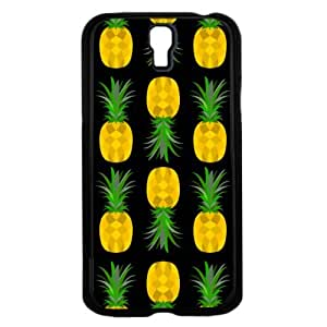Yellow and Black Pineapple Fruit Pattern Hard Snap on Cell Phone Case Cover Samsung Galaxy I9500 (s4)
