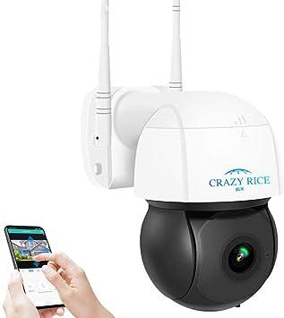 Opinión sobre Cámara PTZ WiFi de 3MP para Exteriores, cámara IP con Zoom Digital 5X, detección automática, Audio bidireccional, IP66 a Prueba de Agua, Soporte para Ranura SD/Almacenamiento en la Nube
