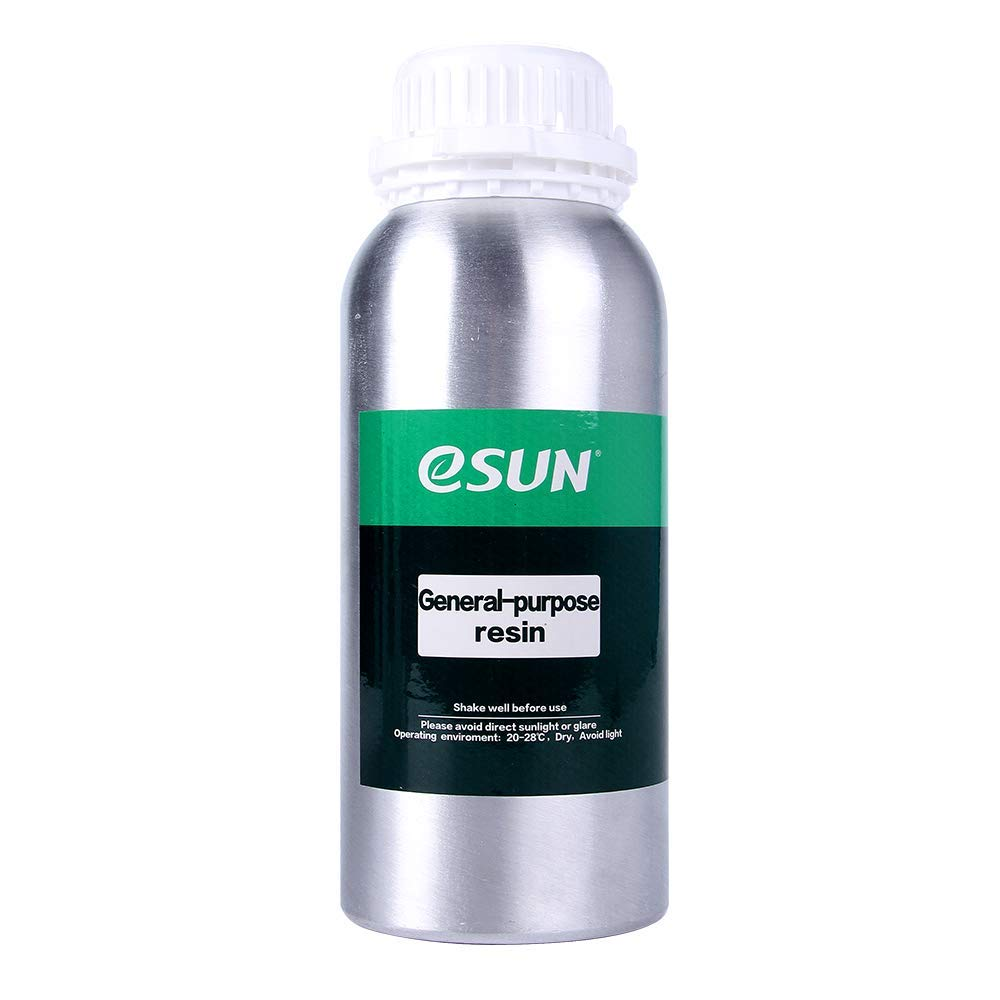 eSUN Rapid LCD UV 405nm Resin Universal High Precision Resin For All LCD 3D Printers Multicolor Available (500ml) (black)