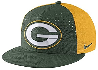 Nike Laser Pulse True NFL Green Bay Packers Adjustable Cap Adult Unisex from Nike