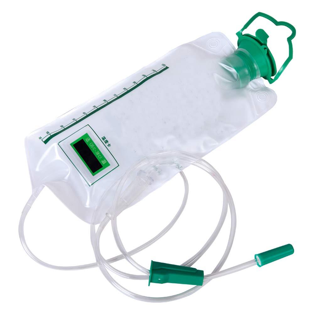 Amazon.com: Pevor Kit de bolsa de enema reutilizable Colon ...