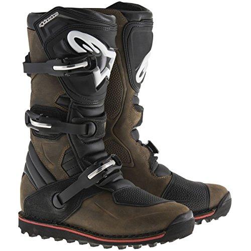 Alpinestars Tech T Men's Off-Road Motorcycle Boots - Brown / 6 by Alpinestars