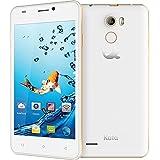 Kata V5 - 4.5-inch IPS Quad Core International Unlocked Smartphone Android 5.1 - Super Slim HD 1.3 GHz Dual Sim Card GSM 8MP Camera (White)