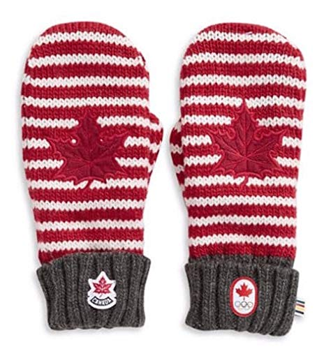 Canada 2019 Olympic Team Collection Adult Red - Mitten Red Collection