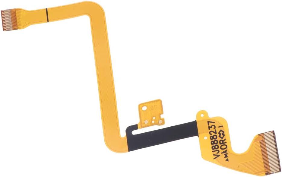 Gazechimp LCD Screen Flat Flex Cable Ribbon Part for Panasonic AG-DVC180B AMC DVC33