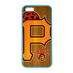 Forever Collectibles MLB Pittsburgh Pirates Dual Hybrid Custom Colorful Case for iPhone 5,5s?