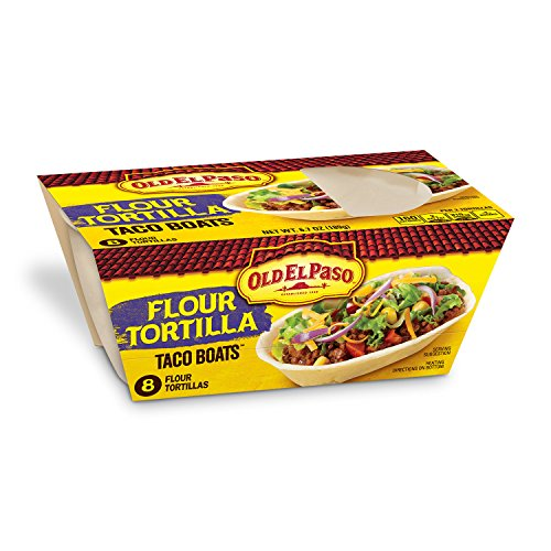 Old El Paso Stand N' Stuff Soft Tortilla, 6.7 Ounce (Pack of 8)