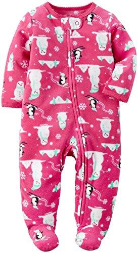 Girls Pink Snowman - 4
