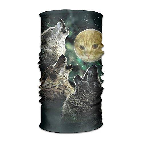 Keyboard Cat Costume (Three Wolf Moon Cat Men's Elastic Turban Hair Accessories)