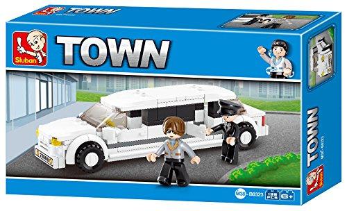 sluban-stretch-limousine-town-building-kit-135-pieces