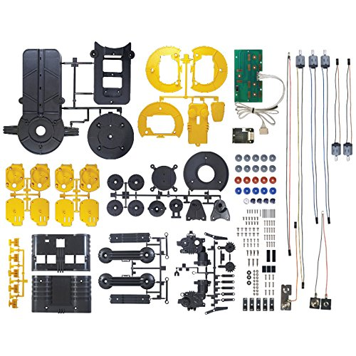 51Ugy2ZLr4L - 14-in-1 Educational Solar Robot   Build-Your-Own Robot Kit   Powered by the Sun
