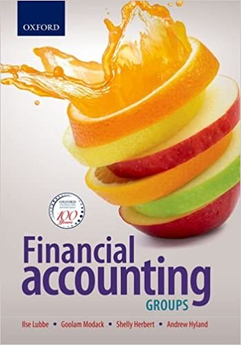 Financial Accounting: Group statements