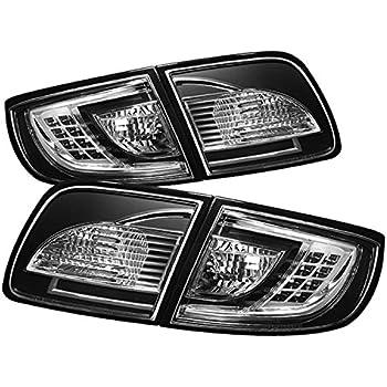 Spyder Auto 2003 2008 Mazda 6 Sedan Led Black Tail Lights Set 5006066 Car Truck Tail Lights Car Truck Lighting Lamps
