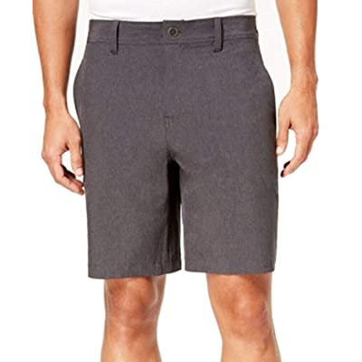"32 DEGREES Stretch Performance Men's 9"" Inseam Shorts, Dark Grey, Size 36 at Amazon Men's Clothing store"