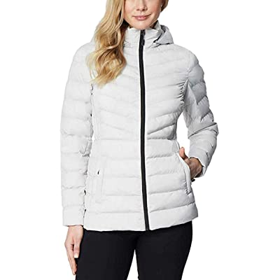 32 Degrees Heat Women's Hooded 4-Way Stretch Jacket at Women's Coats Shop
