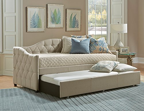 Hillsdale Jamie Luxuriously Upholstered Daybed with Trundle