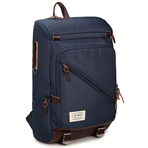 zumit-laptop-backpack-133-14-inch-professional-business-bag-rucksack-water-resistant-blue-805
