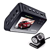 thermal camera car - Dash Cam Dashboard Dual Camera Recorder with HD 1080P 720P VGA,170°Wide Angle Lens, 2