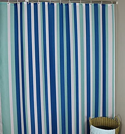 Extra Long 96 Inches Shower Curtain, Welwo Mildew Resistant Shower Curtain  Liner Fabric Set