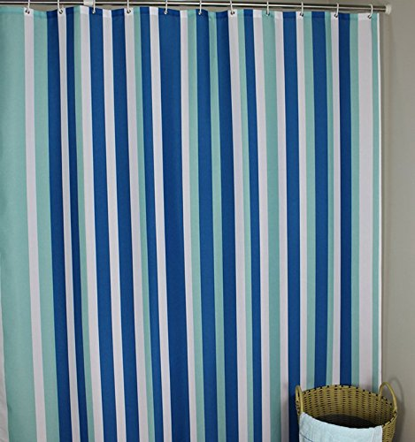Extra Long 96 Inches Shower Curtain Welwo Mildew Resistant