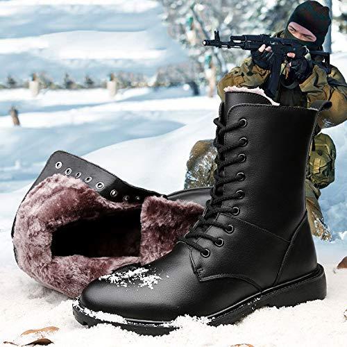 Boots Sport In Scarpe Boots Pelle Campeggio Uomini High Black02 Escursionismo Tattici Lace Up top Di Stivali HGDR Combat All'aria Polizia Desert Sicurezza Aperta Pattuglia Nera Militari vzTfwgxx