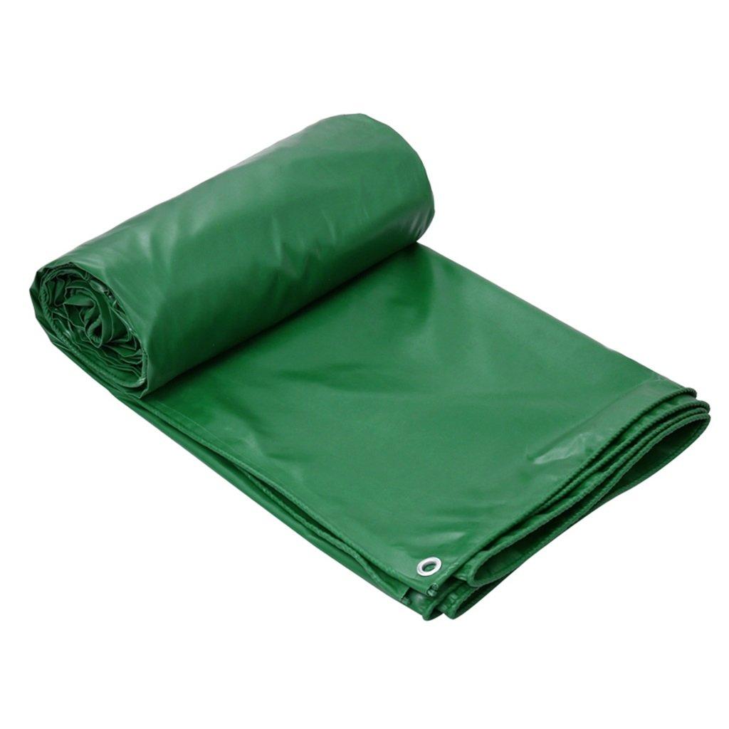 CAOYU Tarpaulin-Planefracht-Sonnenschutzisolierung abnutzungsBesteändiges Holzschutztuchstoffkrepp, grün