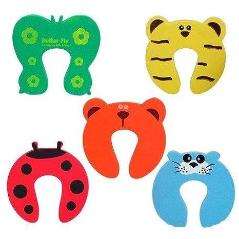 5 x Bloc porte / Stop coince doigts / pince-doigts, sécurité enfant / bébé BabyCentre