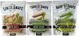 Harvest Snaps Lentil Snaps And Snapea Crisps 3 Flavor Variety Bundle: (2) Lentil Snaps Tomato Basil, (2) Snapea Crisps Lightly Salted, and (2) Lentil Snaps Onion Thyme , 3-3.3 Oz. Ea. (6 Bags Total)