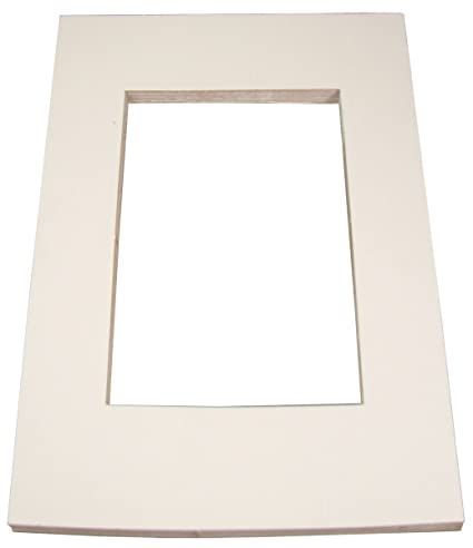 Amazon Inovart Picture It White Pre Cut Artpresentation Mat