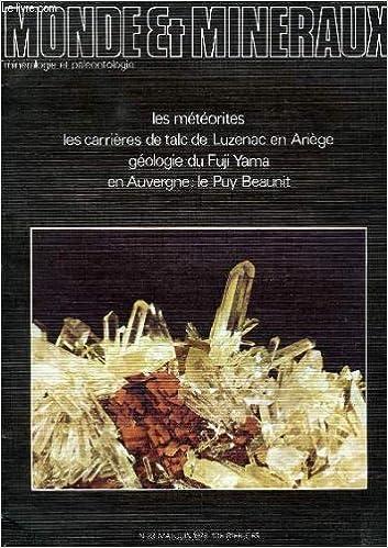 Téléchargement gratuit des livres audio français mp3 Monde et mineraux, mineralogie et paleontologie, n° 23, mai-juin 1978 B003WTRQQW RTF
