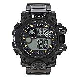 Hessimy Men's Digital Sports Watch Waterproof