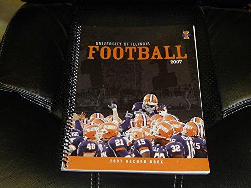 2007 ILLINOIS COLLEGE FOOTBALL RECORD BOOK MEDIA GUIDE EX-MINT BOX