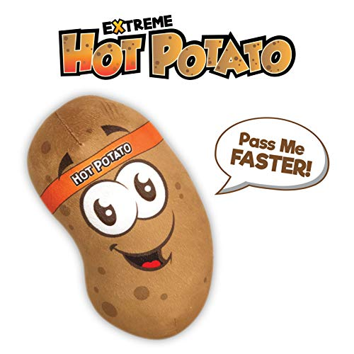 Move2Play Hot Potato - Electronic Kids Game with 40+ Spud-Tastic Phrases, Sound FX, and Music