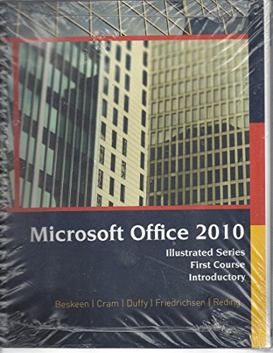 Mircosoft Office 2010 (Illustrated Series First Course Introductory)