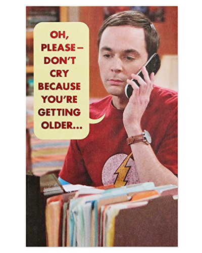 American Greetings Funny The Big Bang Theory Birthday Greeting Card with Foil