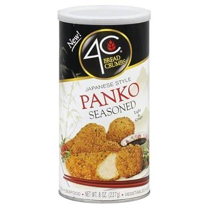 4 C 8 oz. SEASONED Panko migas de pan: Amazon.com: Grocery ...